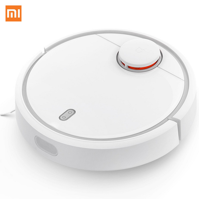 Original XIAOMI MI Robot Vacuum Cleaner for Home Automatic Sweeping Dust Sterilize Smart Planned Mobile App Remote Control original xiaomi mi robot vacuum