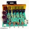 Nueva Actualización Doble AC 24 V En 2.1 de 3 Canales Estéreo Bajo Tablero Del Amplificador 100 w + 100 w + 100 w de Alta Potencia Digital Subwoofer Envío Gratis