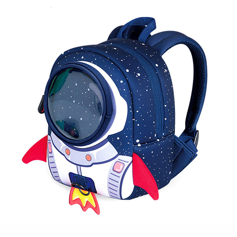 3D School bags Children School Backpack Small Size Aged 1-3 Years Old  Rocket Shape e0aa944f0b97a