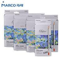 Marco Raffine Fine Art Colored Pencils Drawing Sketches Plainting Colour Pencil School Supplies Secret Garde Pencil