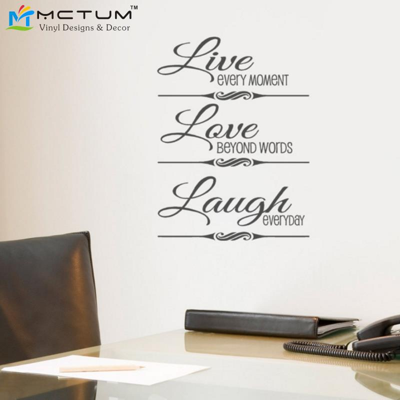 ... Live Love Laugh Wooden Words 3; Por Life Size Wall Decals Life Size Wall  Decals Lots ...
