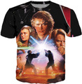 Free shipping women/men  Star Wars Darth Vader  t shirt Cartoon 3d Tee New Fashion Summer t shirts