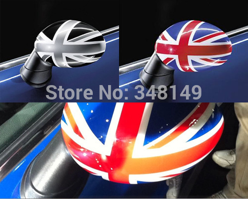 Aliauto 2 x Car-styling Car Rearview Mirror Sticker And Decal Accessories For Mini Cooper