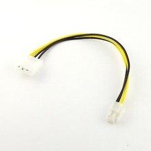 1 stücke IDE 4 Pin Molex P3 zu P4 12 v ATX Power Motherboard PC Power Adapter Blei Kabel