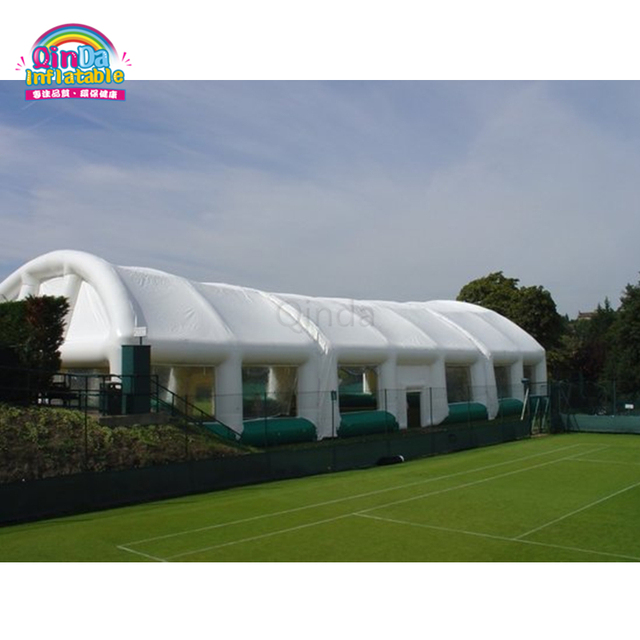 Customized 16M*8M Inflatable tent event, cheap price inflatatable tunnel tent for tennis court