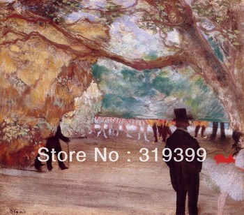 Oil Painting Reproduction on Linen Canvas,The Curtain  by edgar degas,Free DHL Shipping,100%handmade