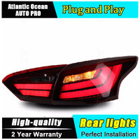 JGRT Car Styling For Ford Focus Taillights BMW Design 2012 2014 Focus LED Tail Lamp Rear