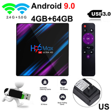 H96 MAX Smart TV Box Android 9.0 TV
