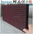 2015 Leeman P10 red color 320*160mm led module p16 2r1g1b P10 rgb outdoor full color outdoor p10 led module 160*160mm red color