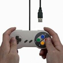 USB Contrôleur de Jeu Joystick Gamepad Contrôleur pour Nintendo SNES Jeu pad pour Windows PC MAC Ordinateur Contrôle Joystick pad