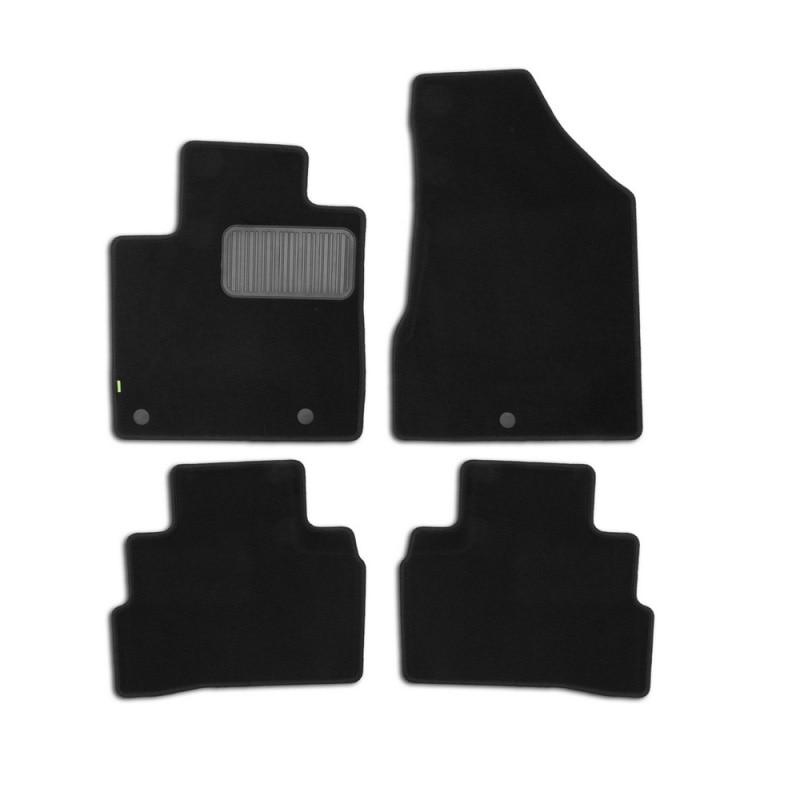 Mats in salon Klever Standard For NISSAN Murano 2016->, cross... 4 PCs (textile) недорого