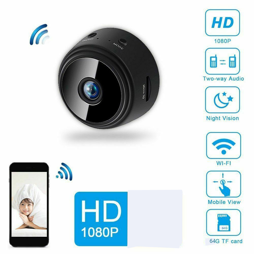 Worldwide delivery mini camera 1080p remote in NaBaRa Online