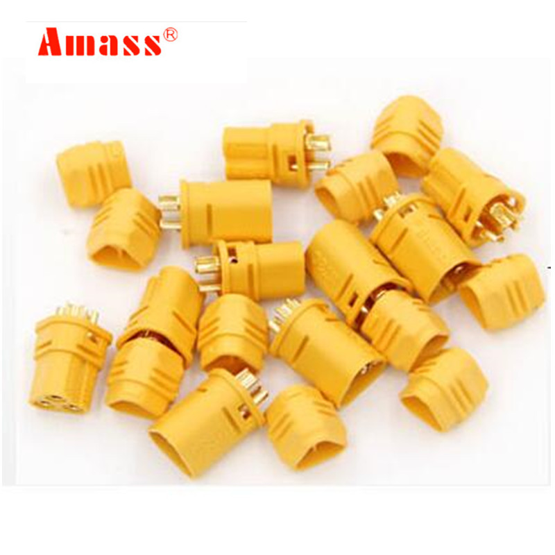 2pair AMASS MT30 2mm 3-pin Connector//Motor connector//Plug Set for RC Battery