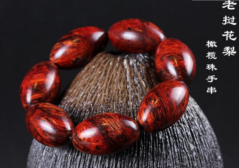 Koraba Fine Jewelry 20mm Natural Laotian Rosewood Olive Beaded Bracelet for Cool Man and Fashion Man Free Shipping спрей для объема шерсти для собак beaphar free sprey от колтунов с миндальным маслом 150 мл