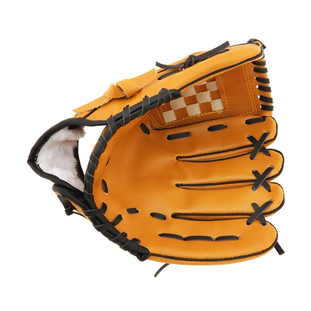 Sport & Unterhaltung Baseball & Softball Handschuhe 10,5 Zoll Hot Baseball-handschuh Für Krug Weiche Art Für Werfen Rechts Braun