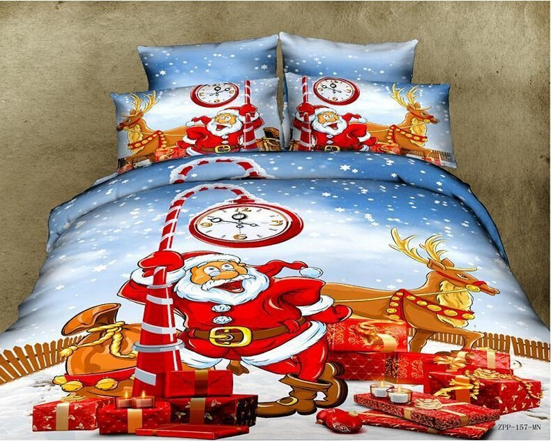 Aliexpress.com : Buy 2017 3D Bedding Sets Santa Claus 100%