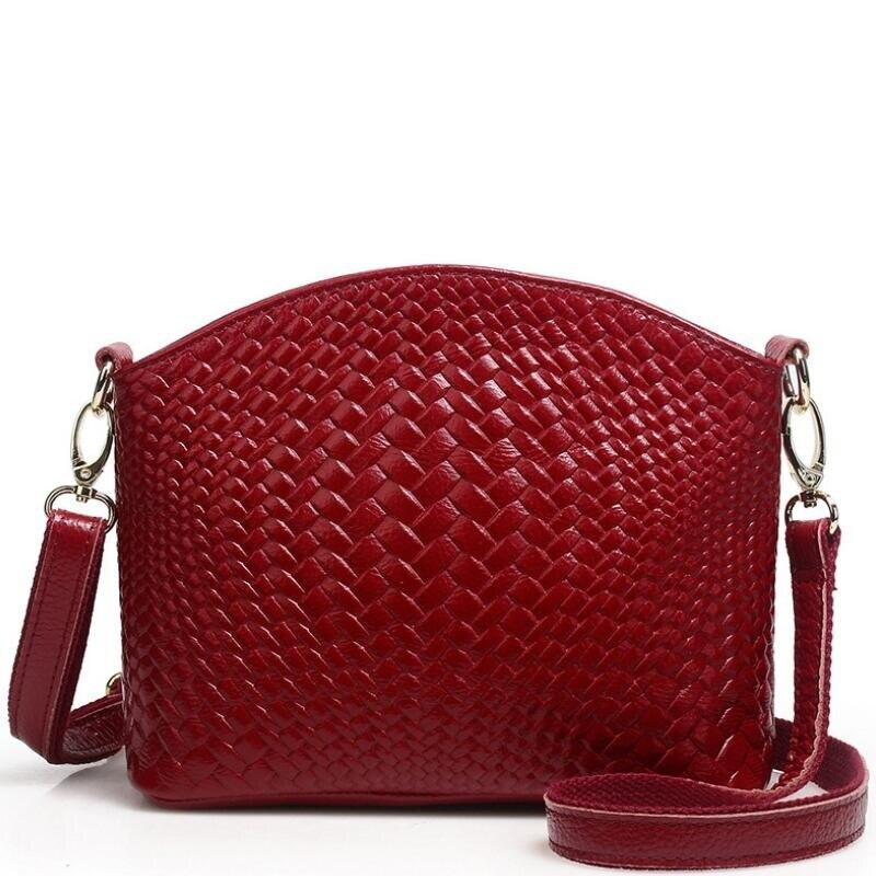 100% Echtem Leder Handtaschen 2019 Neue Ankunft Rindsleder Frauen Messenger Taschen Leder Tasche Weiblichen Körper Quer Tasche Damen Tote Bolsos