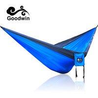 Outdoor Net Parachute Hammock Camping Hanging Sleeping Bed Swing Portable