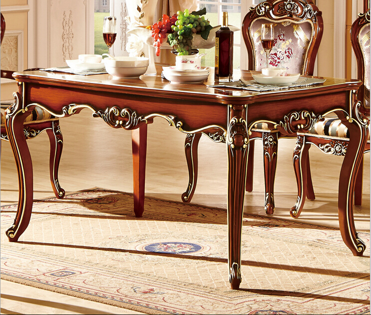 High Quality Dining Furniture 6 High Quality Solid Walnut Ebony