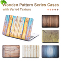 NEW Fashion Colorful Wood Grain Matte Case Cover For Apple macbook Air Pro Retina 11 12 13 15 laptop bag For Mac book 13.3 inch