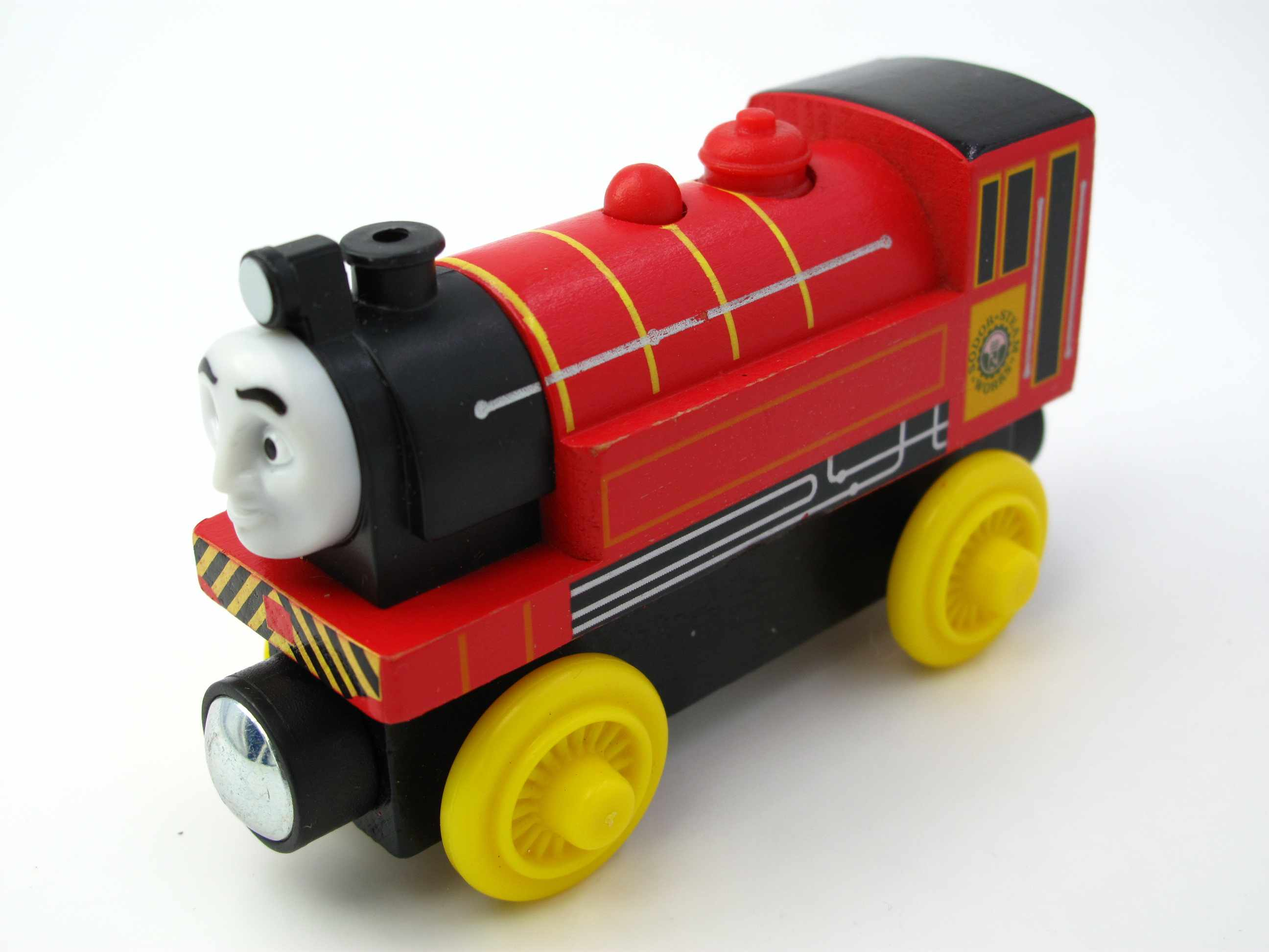Wooden Train T137W VICTOR Magnetic Truck Car Locomotive Engine Railway Toys for Children