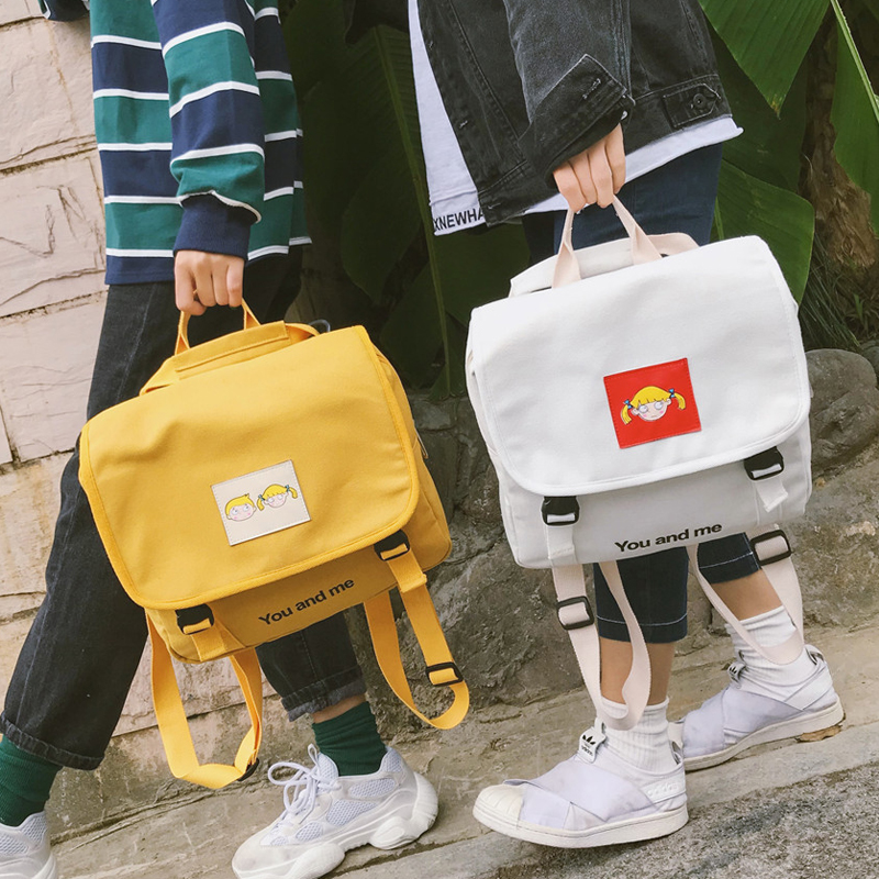 08df1b16013b Detail Feedback Questions about Fashion Women Backpack Female Korean  Version High School Student Small Backpack Multi purpose Bag Shoulder Bag  Rucksack ...