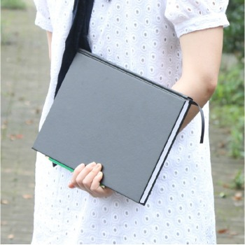 """Black Secret"" Drawing Sketchbook Big Size Blank Papers Hard Cover Art Notebook Study Business Journal Stationery Gift 1"