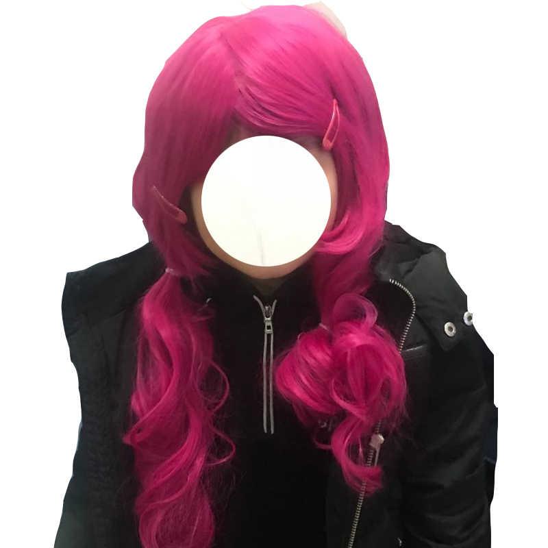 Anak Pakaian Set Mia Halloween Kostum Cosplay Gadis Anak-anak Mia dan Saya Wig Ulang Tahun Pesta Karnaval Wig Mia Pin Rambut