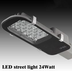 24 W LED światła uliczne E40 lampy drogowe wodoodporna IP65 AC85-265V uliczne led światła przemysłowe światła na zewnątrz lampy