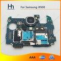 Abierto original de trabajo de trabajo completo para samsung galaxy s4 i9500 placa base placa lógica con cámara trasera