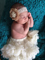 Baby Tutu Ivory Chiffon Pettiskirt Girls pettiskirt Tutu,ballet tutu skirt,newborn infant ruffle pettiskirt baby girl clothing