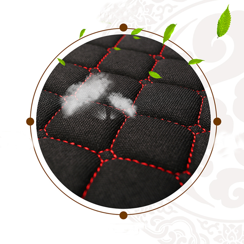 Image 4 - One Seat Flax Car Seat Cover Protector Front Seat Back Cushion Pad Mat Auto Front Automotive interior Styling Truck Suv or Van-in Automobiles Seat Covers from Automobiles & Motorcycles