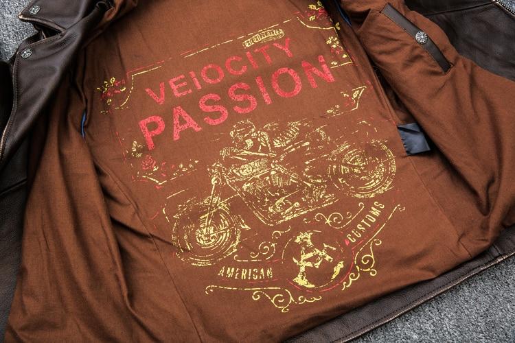 HTB1L075BIuYBuNkSmRyq6AA3pXaH MAPLESTEED Brown Distressed Motorcycle Jacket Men 100% Calf Skin Classic Slim Leather Jacket Man Moto Biker Coat Winter 5XL M190