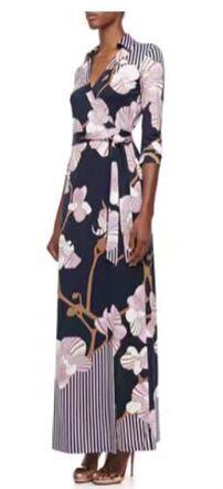 Autumn new slik jersey fashion printing knitting slim Cardigan wrapped longer dress with belt free shipping