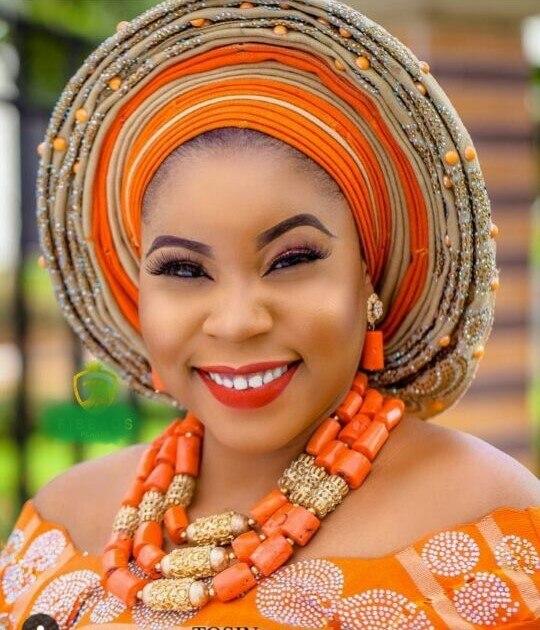 Traditional Nigerian Wedding Gifts: Big Real Coral Bead Traditional Nigerian Wedding African