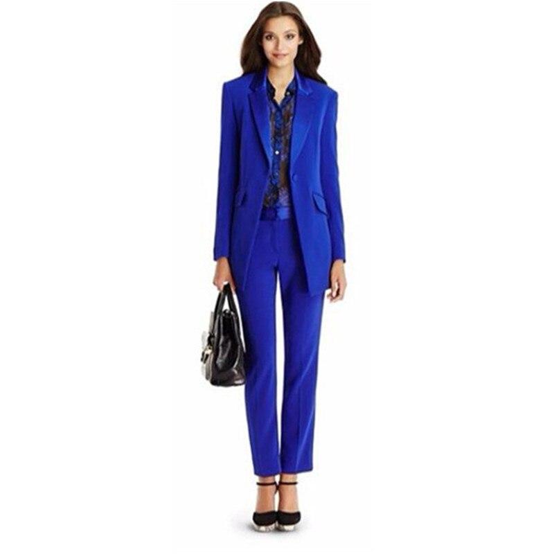 color Solide veste Formelle piece Costume Color Pantalon D'affaires Photo Custom Nouveau Dames Card Mince Support Couleur Deux Color Suit Velours Bureau xgnUzwtp