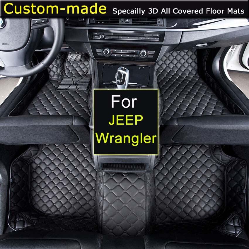 Car Floor Mats For JEEP Wrangler JK 2 / 4 Doors 2 Doors Sahara Rubicon  Custom Carpets Car Styling Customized Specially In Floor Mats From  Automobiles ...