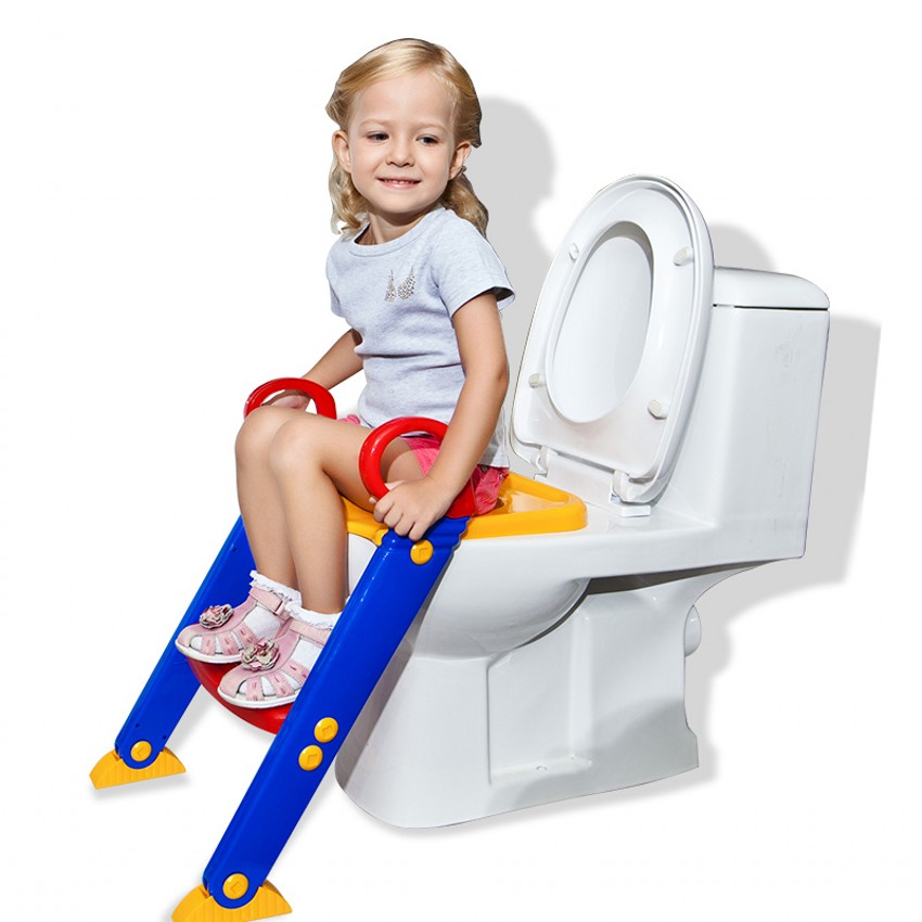 Baby Potty Seat Ladder Children Toilet Seat Cover Kids Toilet Folding infant potty chair Training Portable цена