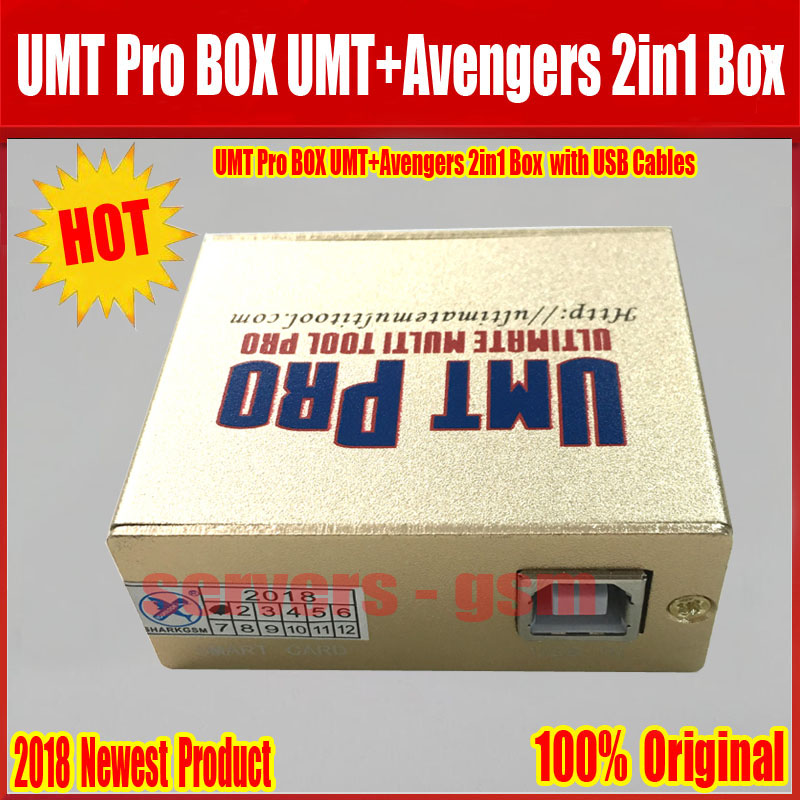 US $85 5 5% OFF 2019 Newest 100% Original UMT Pro BOX UMT+Avengers 2in1 Box  with 1 USB Cables Free Shipping w 2019 Newest 100% Original UMT Pro BOX