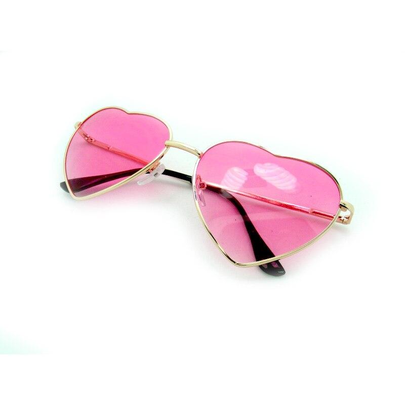 US $2.05 46% OFF|Fashion Heart shaped Sunglasses for Girl Retro Metal Frame Pink Mirror Sunglasses Women Vintage Sun Glasses Eyewear #84059|sunglasses