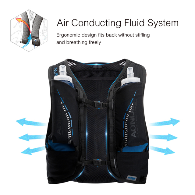 AONIJIE 18L Lightweight Trail Running Hydration Backpack 4