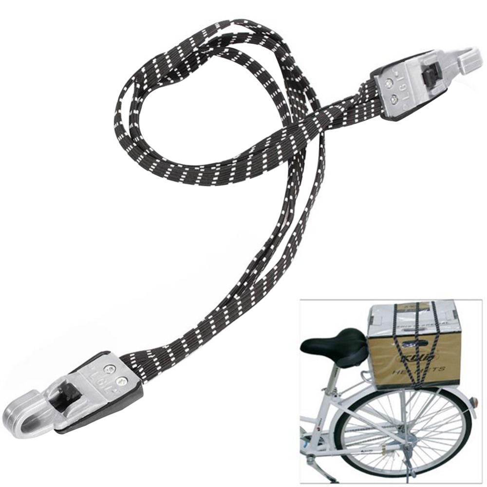 70cm Elastic Bicycle Luggage Rope Bicycle Bike Cycling Hooks Bandage Straps Belt Box Packing Rope Tie Equipment Bike Accessories
