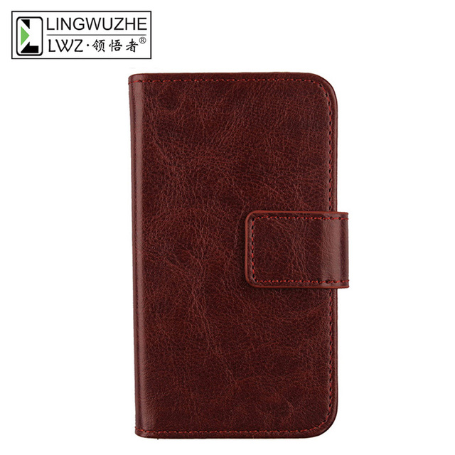 For Noa N2 5'' Case Luxury Flip Cover PU Leather Phone Bag Case For Noa N2 Coque