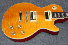 Freies Verschiffen Slash Appetite Natürliche gelbe burst Gitarre SLASH e-gitarre + Hard case