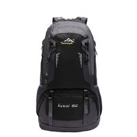 40 60L Outdoor Sport Climbing Travel Large Capacity Mountaineering Backpack Brand Quality Bag Packs Waterproof Nylon