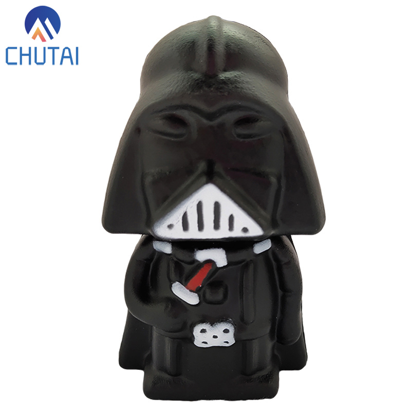 Kawaii Anime Star Wars Darth Vader Squishy Slow Rising Simulation Soft Scented Stress Relief Squeeze Toys For Kids Gift 11x7 CM