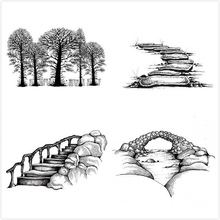 Nature Clear Stamps for Scrapbooking