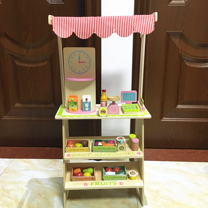Baby Educational Toys Simulation Canteen Scene Play Wooden Toy Food Set Selling Game Assemble Play House Baby Birthday Gift baby toys child furniture set simulation kitchen toy educational plastic toy food set assemble play house baby birthday gift