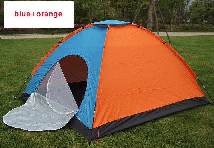 4 to 5 person camping tent large camping tent 2 door waterproof uv protection hiking camping tent camping world sosisson