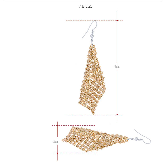 Tassel Bohemia Style Earrings For Women